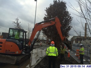 12/31/16 Work still gets done in bad weather conditions.